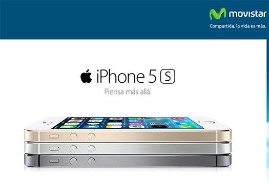 iPhone 5s en Movistar México