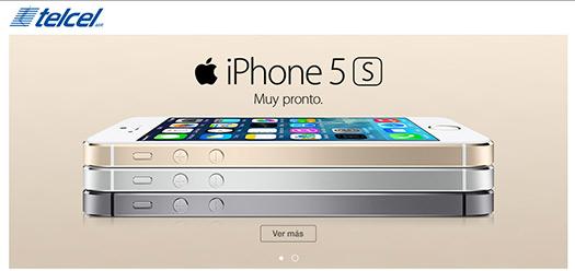 iPhone 5S en México con Telcel