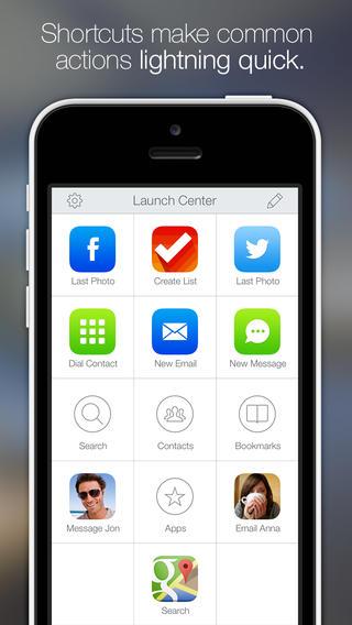 launch center pro en iPhone