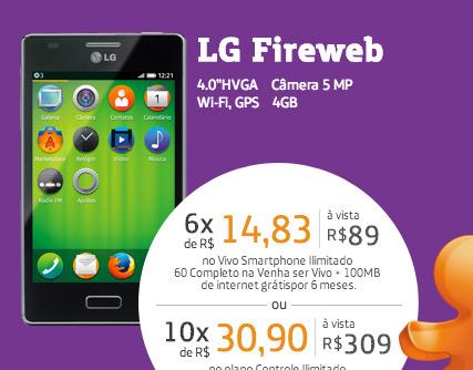 LG Fireweb D300 en Vivo