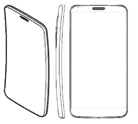 LG G Flex boceto Sketch