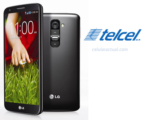 LG G2 en Mexico con Telcel