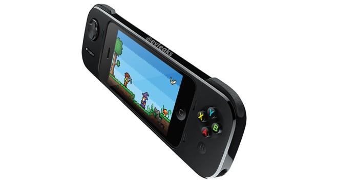 Logitech gamepad para iPhone con iOS 7 iPhone en acción