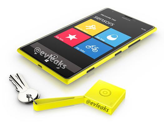 Nokia Lumia 1520 y Treasure Tag Yellow