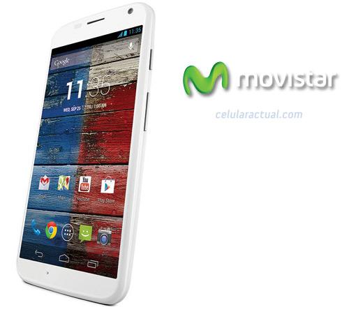 Motorola Moto X en México con Movistar color blanco
