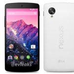 Nexus 5 se revelan especificaciones oficiales