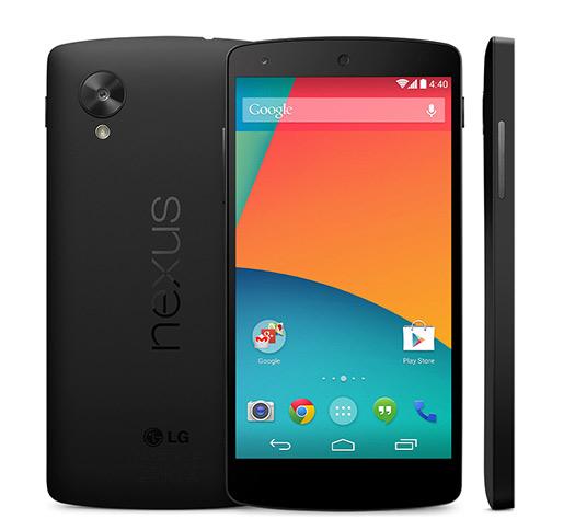 Nexus 5 oficial color negro