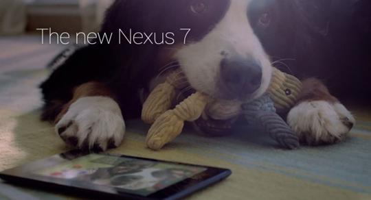 Google lanza dos comerciales nuevos para el Nexus 7