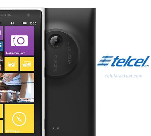 Nokia Lumia 1020 en México con Telcel desde 26 de octubre