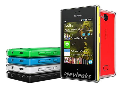 Nokia Asha 503 en imagen oficial previo a presentación