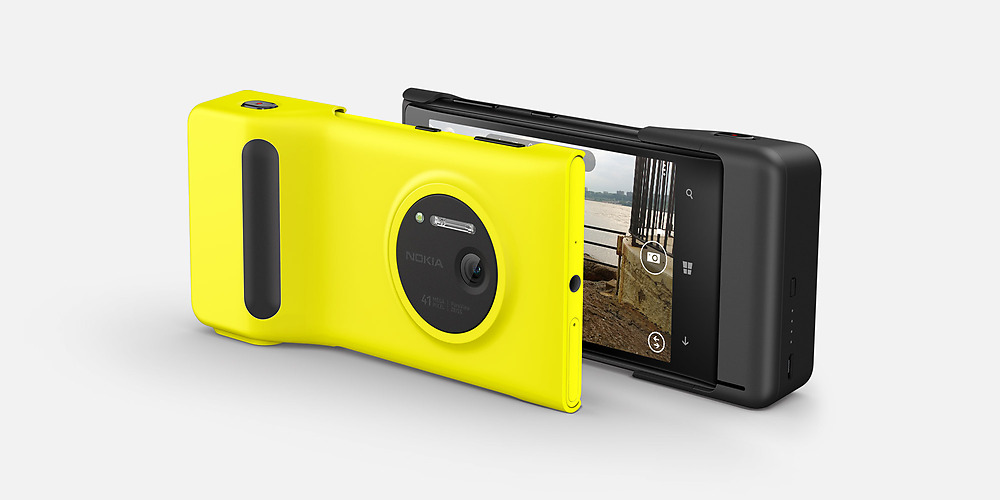 Nokia Lumia 1020 para México cámara de 41 MP PureView color negro y amarillo