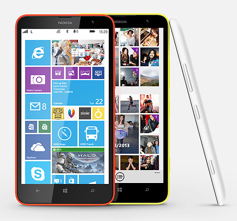 Nokia Lumia 1320 colores