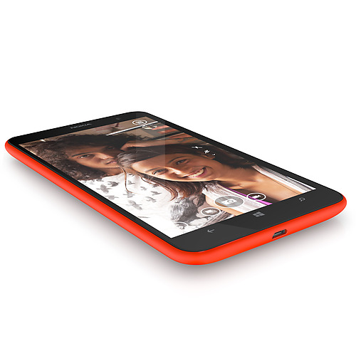 Nokia Lumia 1320 color naranja foto