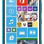 Nokia Lumia 1520 el phablet filtrado en color azul brillante