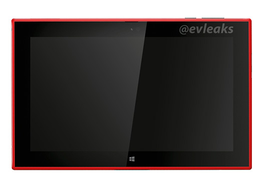 Nokia Lumia 2520 la tablet  color rojo Red