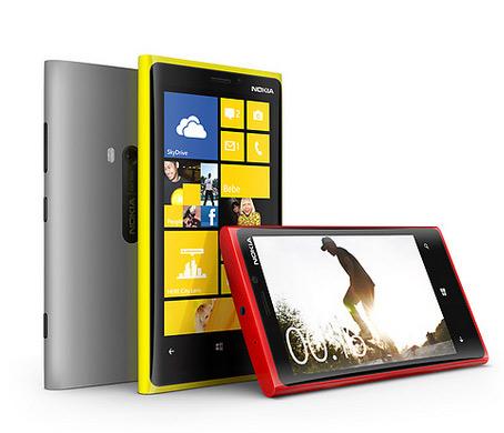 Nokia Lumia smartphones varios