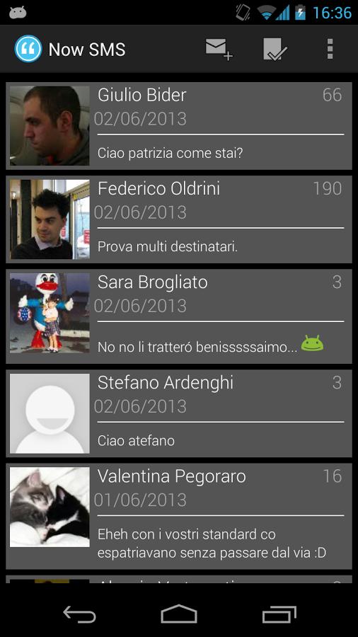 app now sms