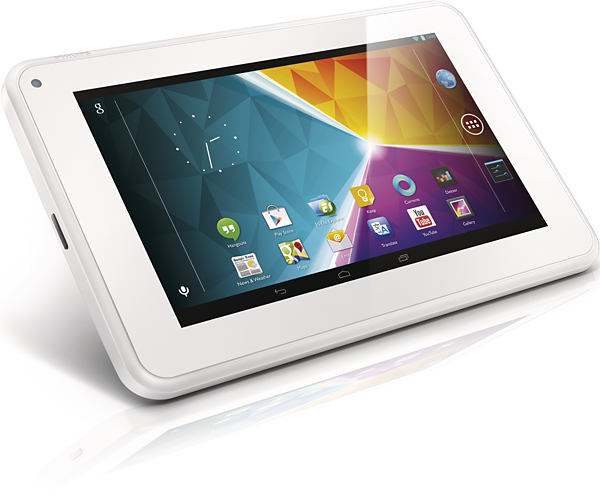 Philips 7 tablet con Android Jelly Bean