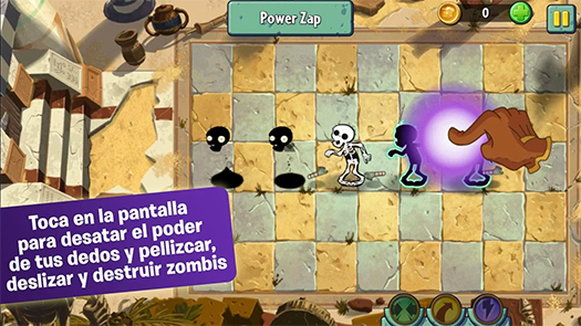Plants vs. Zombies 2 pantalla
