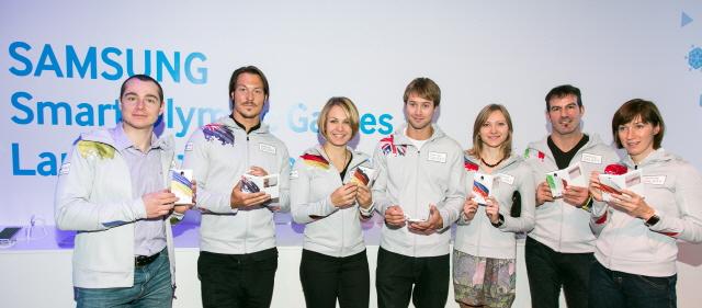 Samsung Galaxy Note 3 el teléfono oficial de Juegos Olímpicos de Sochi 2014 Los Atletas