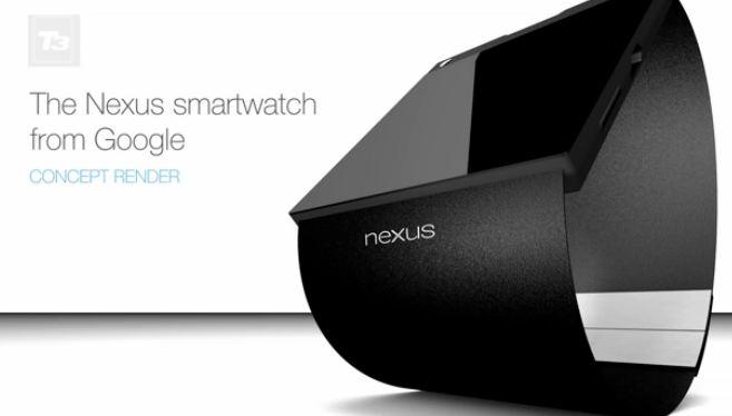 Smartwatch de Google render No oficial