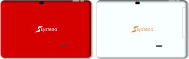 Systena Tizen OS Tablet cámara trasera