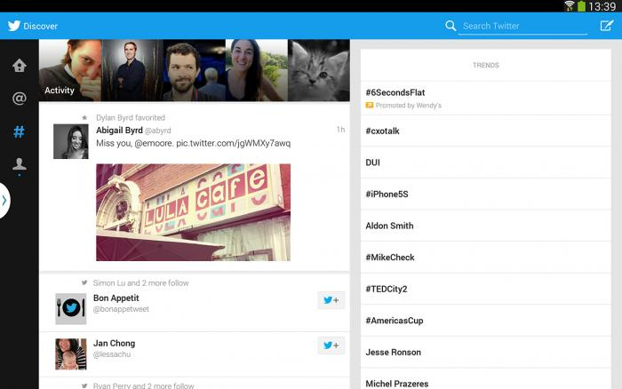 Twitter Tablets Galaxy Note 10.1 2014 Edition