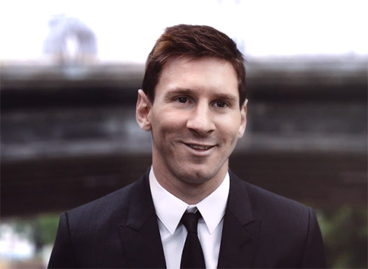 Video Lionel Messi en comercial de Samsung Galaxy Note 3