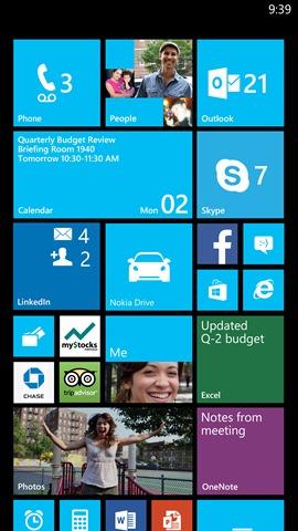 Windows Phone 8 GDR3 Live Tiles