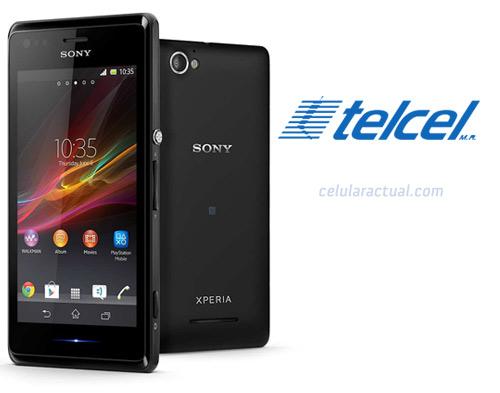Sony Xperia M en México con Telcel