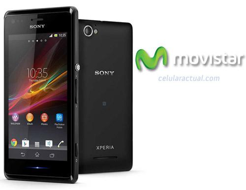 Sony Xperia M ya en México con Movistar