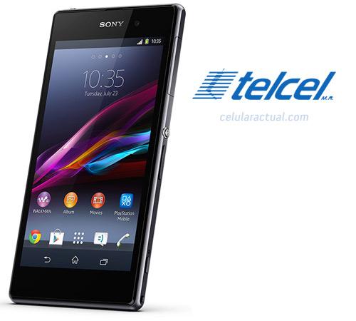 Sony Xperia Z1 en México con Telcel