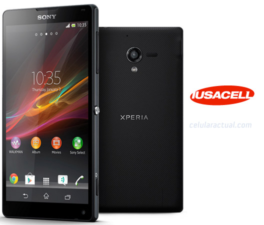 Sony Xperia ZL en Iusacell