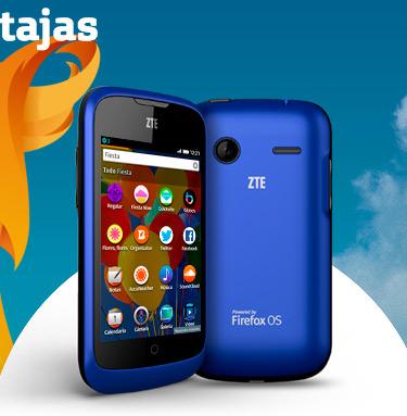 ZTE Open  Firefox OS en Movistar México