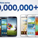 Samsung espera vender 100 millones de Notes y Galaxy S