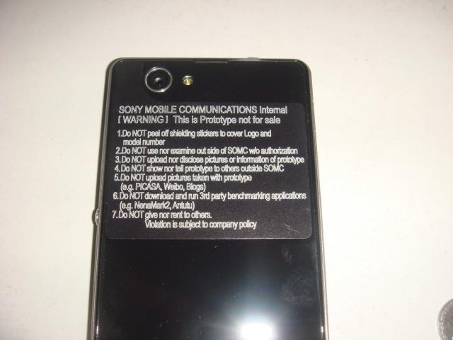 Sony Xperia Z1S D5503 cámara y Flash Dual
