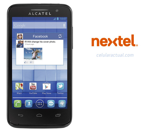 Alcatel One Touch M'POP en Nextel México