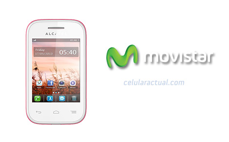 Alcatel One Touch 3035 con Movistar México