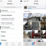 Dropbox recibe nuevo diseño para iOS 7 y otras funciones