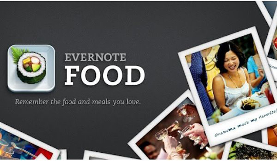 app evernote food