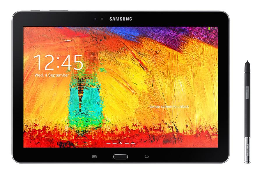 Samsung Galaxy Note 10.1 Edición 2014 parte frontal