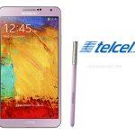 El Samsung Galaxy Note 3 color Rosa ya en Telcel