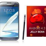 Samsung Galaxy Note II comienza a recibir Android 4.3 Jelly Bean