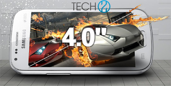 Galaxy S Duos 2 pantalla de 4 pulgadas