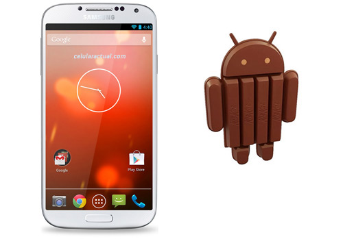 Galaxy S4 Google Play Edition con Android KitkatGalaxy S4 Google Play Edition con Android Kitkat