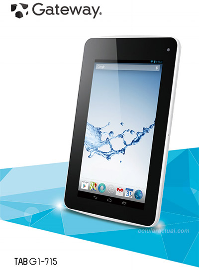Gateway Tablet 7 G1-715 con Android Jelly Bean en México