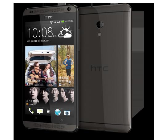 HTC Desire 700  color negro de lado y cámara