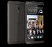 HTC Desire 700 color negro de lado y cámara 2