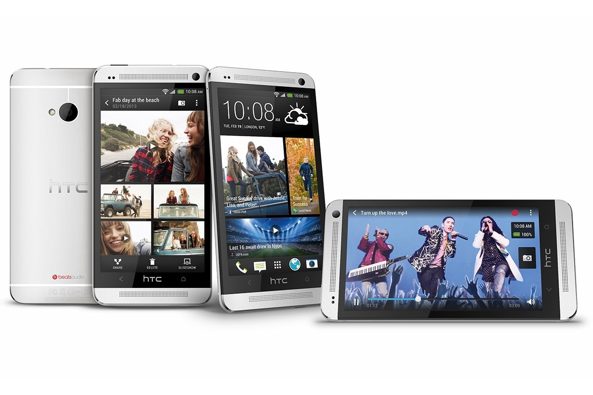 HTC One Dual SIM pantalla, cámara interfaz