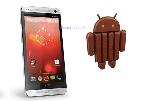 HTC One Google Play Edition con Android 4.4 KitKat